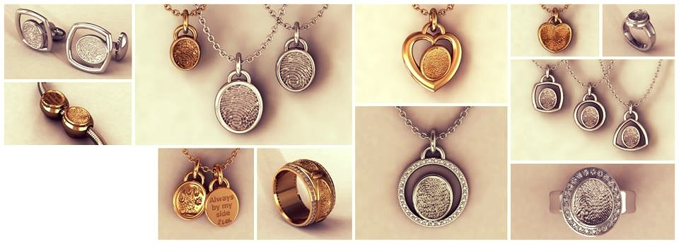 Image for Fingerprint jewelry by first impressions